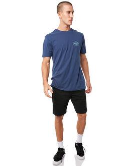 BLACK MENS CLOTHING DC SHOES SHORTS - EDYWS03101KVJ0