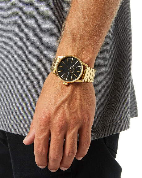 ALL GOLD BLACK MENS ACCESSORIES NIXON WATCHES - A356510