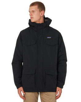 BLACK MENS CLOTHING PATAGONIA JACKETS - 27021BLK