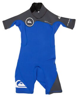 BLUE METAL WHITE SURF WETSUITS QUIKSILVER SPRINGSUITS - EQKW503000XPKW