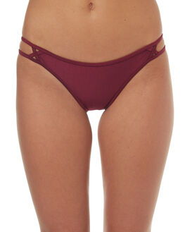 PLUM WOMENS SWIMWEAR TIGERLILY BIKINI BOTTOMS - T372574PLM