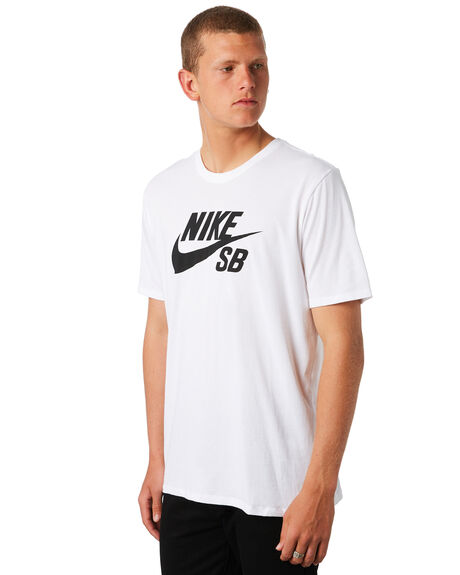 WHITE MENS CLOTHING NIKE TEES - 821946100