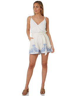 WHITE WOMENS CLOTHING TIGERLILY SHORTS - T305379WHT