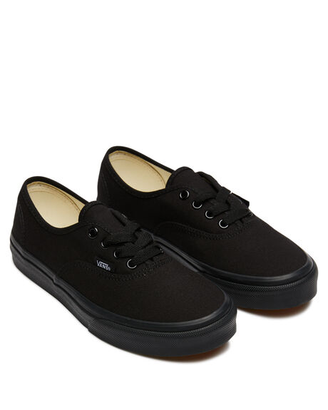BLACK BLACK KIDS BOYS VANS SNEAKERS - VN-0WWXENRBBK