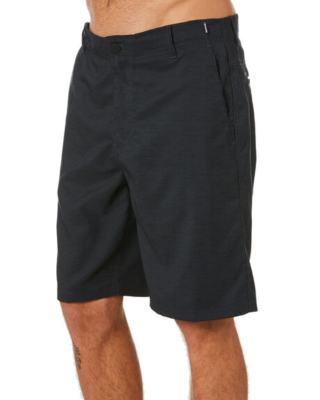 BLACK HEATHER MENS CLOTHING HURLEY SHORTS - MWS0006580032
