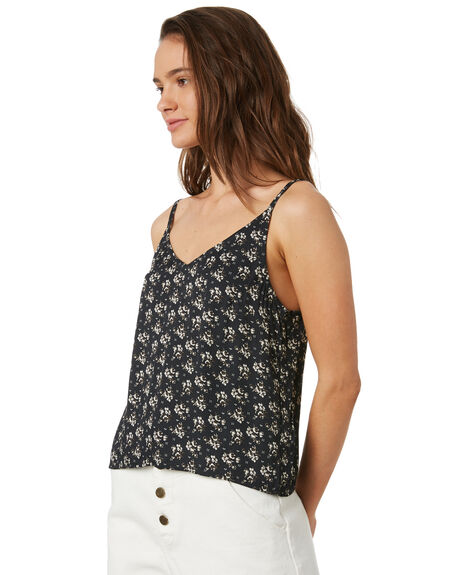 IRIS FLORAL OUTLET WOMENS SWELL FASHION TOPS - S8202011IRSFL