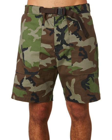 MEDIUM OLIVE MENS CLOTHING NIKE SHORTS - AO2414222