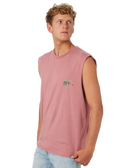 ROSE MENS CLOTHING BARNEY COOLS SINGLETS - 123-CC4RSE