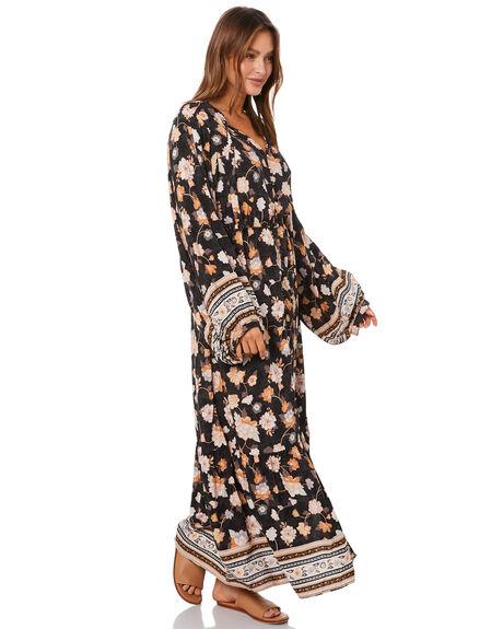 WASHED BLACK WOMENS CLOTHING RIP CURL DRESSES - GDRFJ98264