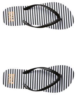 BLACK WOMENS FOOTWEAR BILLABONG THONGS - 6671803BLK
