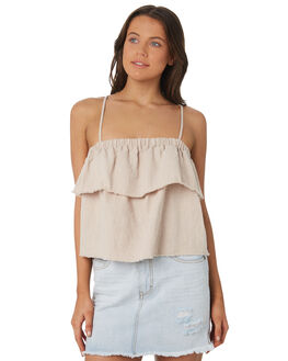 SABLE OUTLET WOMENS RUSTY FASHION TOPS - WSL0585-SAB