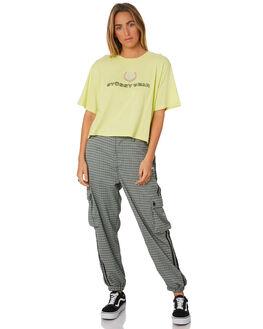 CITRUS WOMENS CLOTHING STUSSY TEES - ST196002CIT