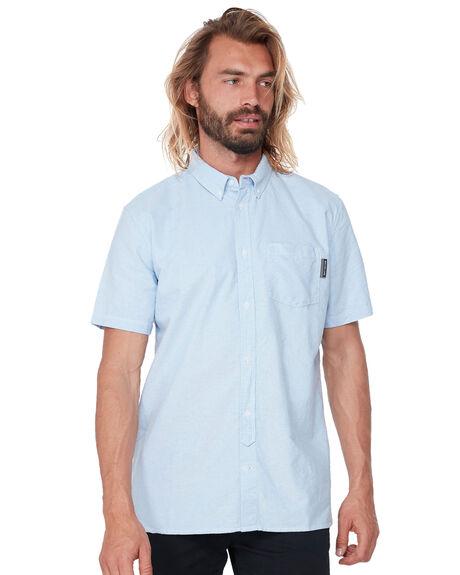 LIGHT BLUE MENS CLOTHING DC SHOES SHIRTS - EDYWT03213BFN0