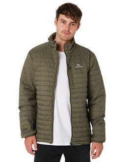 DARK OLIVE MENS CLOTHING RIP CURL JACKETS - CJKEO19389