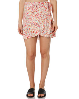 RED OUTLET WOMENS RIP CURL SKIRTS - GSKDX10040