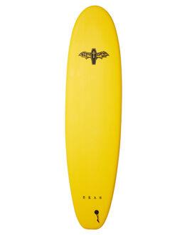 YELLOW BLACK BOARDSPORTS SURF DRAG SOFTBOARDS - DBCCOFF7YELBK