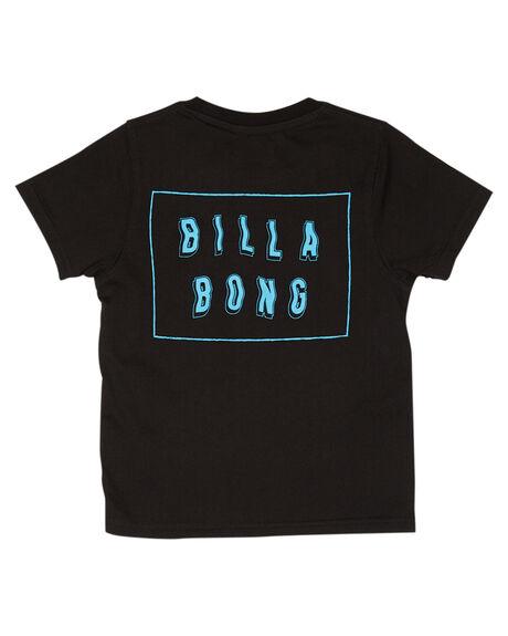 BLACK KIDS BOYS BILLABONG TOPS - 7595035BLK