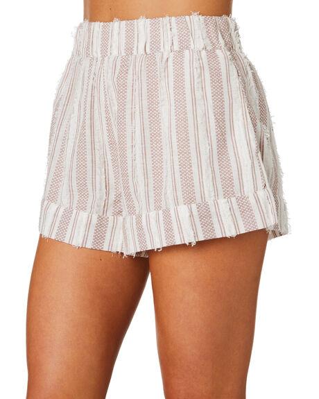 NATURAL WOMENS CLOTHING TIGERLILY SHORTS - T305390NAT