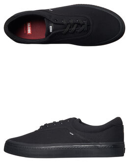 BLACK BLACK MENS FOOTWEAR GLOBE SKATE SHOES - GBSPROUT-10006