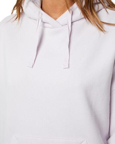 LAVENDER WOMENS CLOTHING VOLCOM HOODIES + SWEATS - B4112103LAV