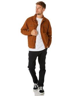 TOBACCO MENS CLOTHING BILLABONG JACKETS - 9595919TOBAC