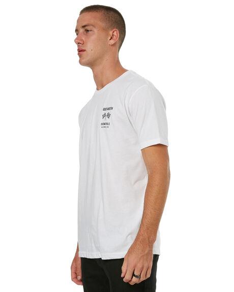 WHITE MENS CLOTHING GOOD WORTH TEES - TGP1742WHT