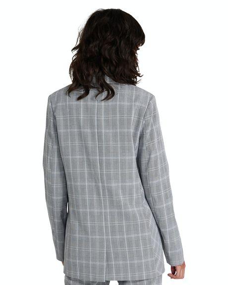 GREY WOMENS CLOTHING NEON HART JACKETS - 35522400022