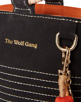 DARK STORM SUEDE WOMENS ACCESSORIES THE WOLF GANG BAGS + BACKPACKS - TWGAW19A05-DSCOG