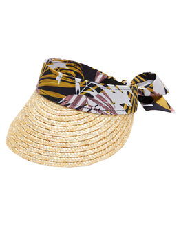 STRAW WOMENS ACCESSORIES RHYTHM HEADWEAR - JAN20W-HW04-STR