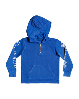 DAZZLING BLUE KIDS BOYS QUIKSILVER JUMPERS + JACKETS - EQKFT03317-PPM0