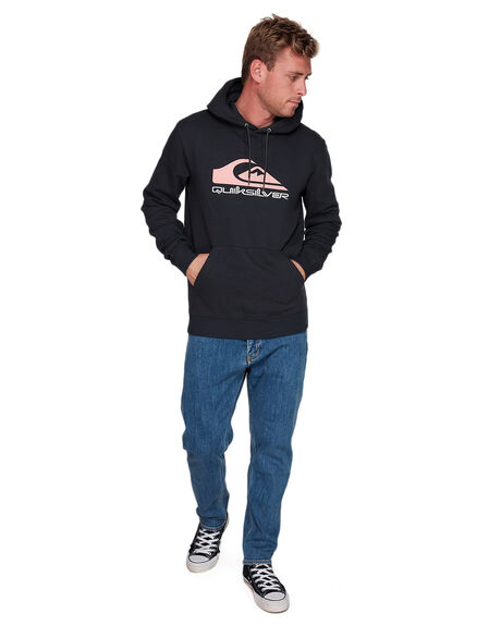 BLACK ANNIVERSARY MENS CLOTHING QUIKSILVER JUMPERS - EQYFT04078-KVM4