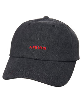FADED BLACK MENS ACCESSORIES AFENDS HEADWEAR - A181603FBLK