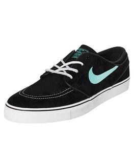 BLACK MINT MENS FOOTWEAR NIKE SKATE SHOES - 833603-001