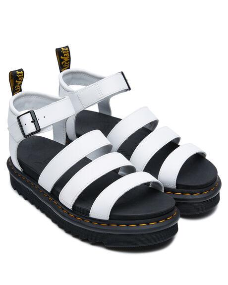 WHITE WOMENS FOOTWEAR DR. MARTENS FASHION SANDALS - SS25768100WHTW