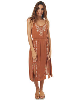 RUST WOMENS CLOTHING O'NEILL DRESSES - FA6416029RUST