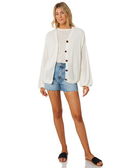OFF WHITE WOMENS CLOTHING MINKPINK KNITS + CARDIGANS - MP1908802OWHT