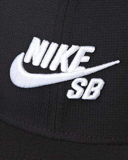 BLACK MENS ACCESSORIES NIKE HEADWEAR - 629243010