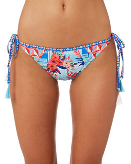 MULTI WOMENS SWIMWEAR PIHA BIKINI BOTTOMS - P2118TXMUL