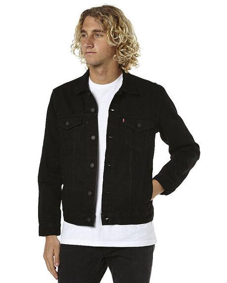 BERKMAN MENS CLOTHING LEVI'S JACKETS - 72334-0144BRM