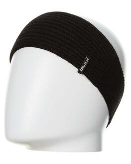 BLACK WOMENS ACCESSORIES BILLABONG HEADWEAR - 6675309ABLK