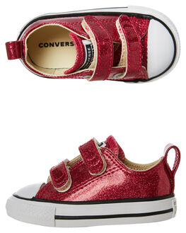 PINK POP KIDS TODDLER GIRLS CONVERSE FOOTWEAR - 761954PINKP