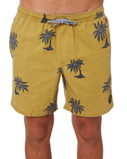 SULPHUR MENS CLOTHING GLOBE BOARDSHORTS - GB01918012SULPH