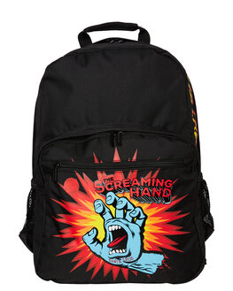 BLACK KIDS BOYS SANTA CRUZ BAGS + BACKPACKS - SC-YAD8148BLK