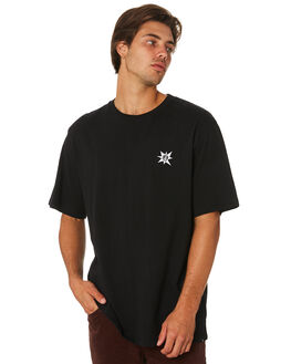 BLACK MENS CLOTHING VOLCOM TEES - A4331964BLK