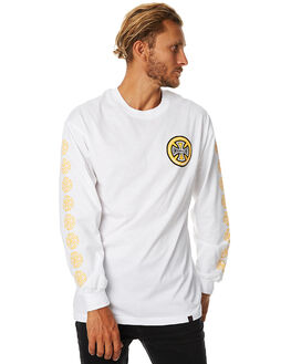 WHITE MENS CLOTHING INDEPENDENT TEES - IN-MLA7119WHT