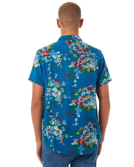 ROMEO FLORAL MENS CLOTHING ROLLAS SHIRTS - 151913221