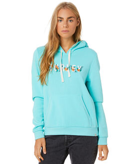 LIGHT AQUA HTR WOMENS CLOTHING HURLEY JUMPERS - CT4720436