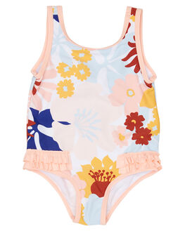WHITE KIDS GIRLS RIP CURL SWIMWEAR - FSICF11000
