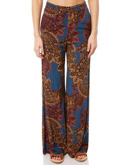 MULTI WOMENS CLOTHING TIGERLILY PANTS - T381375MUL