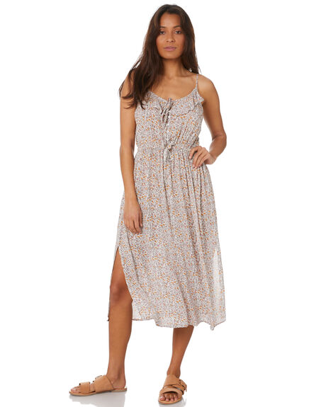 CORAL BAY WOMENS CLOTHING THE HIDDEN WAY DRESSES - H8211448CRLBY
